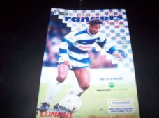 Queens Park Rangers v Newcastle United, 1994/95